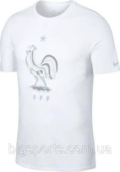 Футболка муж. Nike Francja Tee Evergreen Crest (арт. 908373-100)