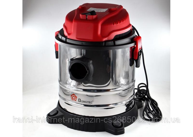 Пылесос Domotec MS-4411 2200 Вт, пылесос бытовой 4 в 1, моющий пылесос
