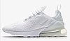 "Кроссовки Nike Air Max 270 ""White/White/White"" Арт. 3932"