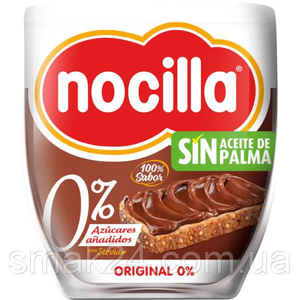 Шоколадный крем (паста) 0% сахара и без пальмового масла Nosilla 190г Испания