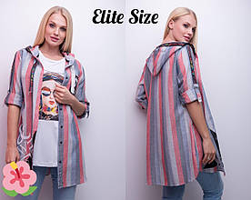 Женская 2-ка: рубашка и майка в расцветках Турция, р-р 46-52. НО-37-0519