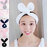 """Повязка для макияжа на голову """"Cute Rabbit"""", 5 цветов, фото 3"""