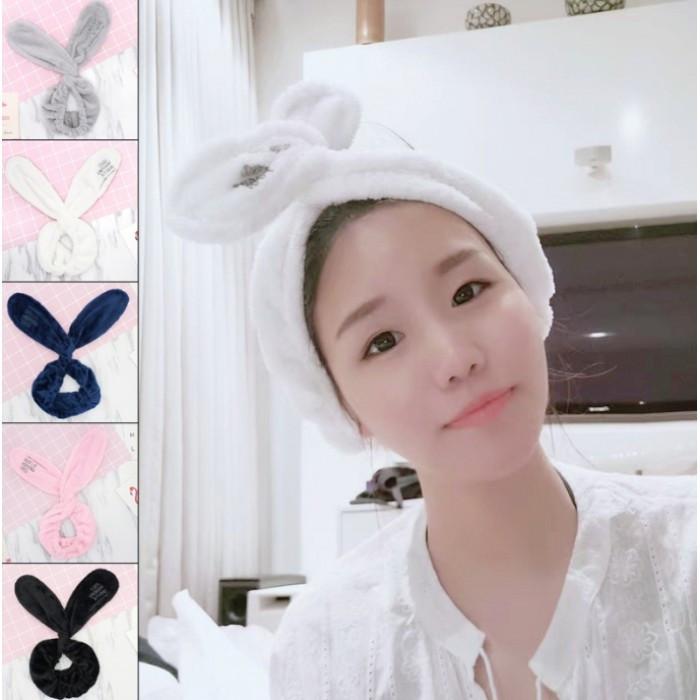 "Повязка для макияжа на голову ""Cute Rabbit"", 5 цветов"