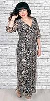 Платье для  полных  новинка стильное, модное Лео   размеров  от 48 до 58    купить