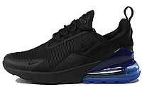 "Кроссовки Nike Air Max 270 ""Black/Blue"" Арт. 2808"