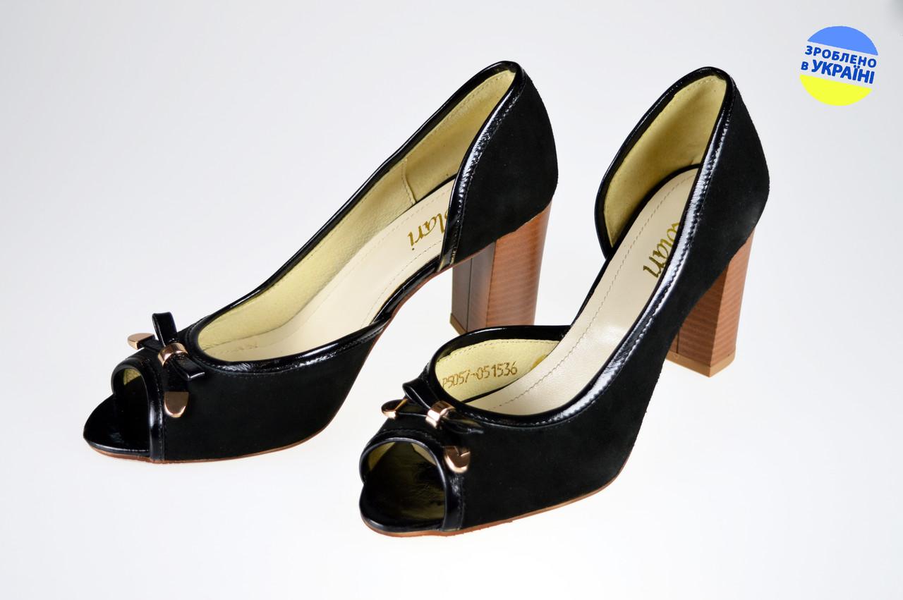 497509550 Женские туфли модельные kolari 5057 черные летние - Магазин обуви
