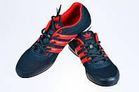 Мужские кроссовки adidas для ходьбы спорт 7 9078-4 черные   летние