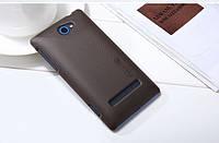 Чехол Nillkin для HTC 8S коричневый (+пленка), фото 1