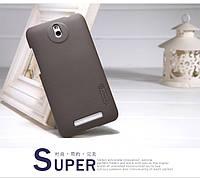 Чехол Nillkin для HTC Desire 501 коричневый (+пленка)