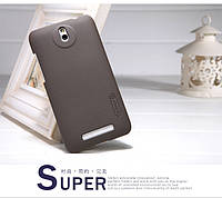 Чохол Nillkin для HTC Desire 501 коричневий (+плівка), фото 1