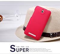 Чохол Nillkin для HTC Desire 501 червоний (+плівка), фото 1