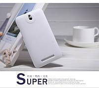 Чехол Nillkin для HTC Desire 501 белый (+пленка), фото 1