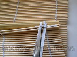 Подгонка бамбуковых штор под размеры Вашего окна