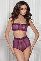 Мягкий бюстгальтер бандо на косточках Jasmine 1410/65 Jecy violet