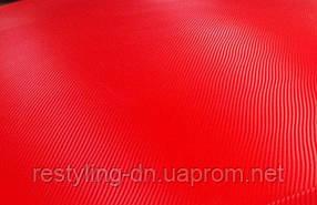 Пленка под карбон TR1 3D красная, 1,27м