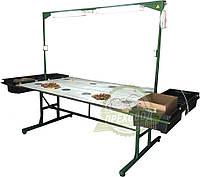 Стол для переборки грецкого ореха (четырехместный), фото 1