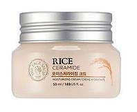 Экстраувлажняющий крем для лица с керамидами и рисом The Face Shop Rice And Ceramide Moisture Cream
