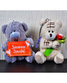 Мягкая игрушка-брелок Мишка Тедди 71002