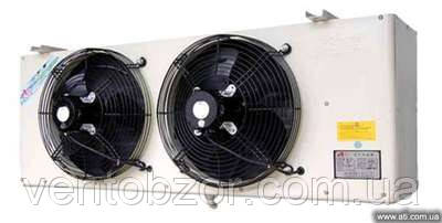 Воздухоохладитель 7,5 кВт. (ламель 6 мм, среднетемпературный, -18С, дельта 7С)