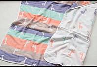 Детский плед-одеяло Комильфо летний хлопок 100х100 ЕМ019