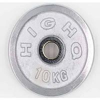 Блины (диски) хромированные d-52мм 10кг TA-1456-10B