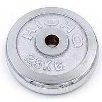 Блины для штанги хром 2,5кг(диам. 30мм) ТА-1451