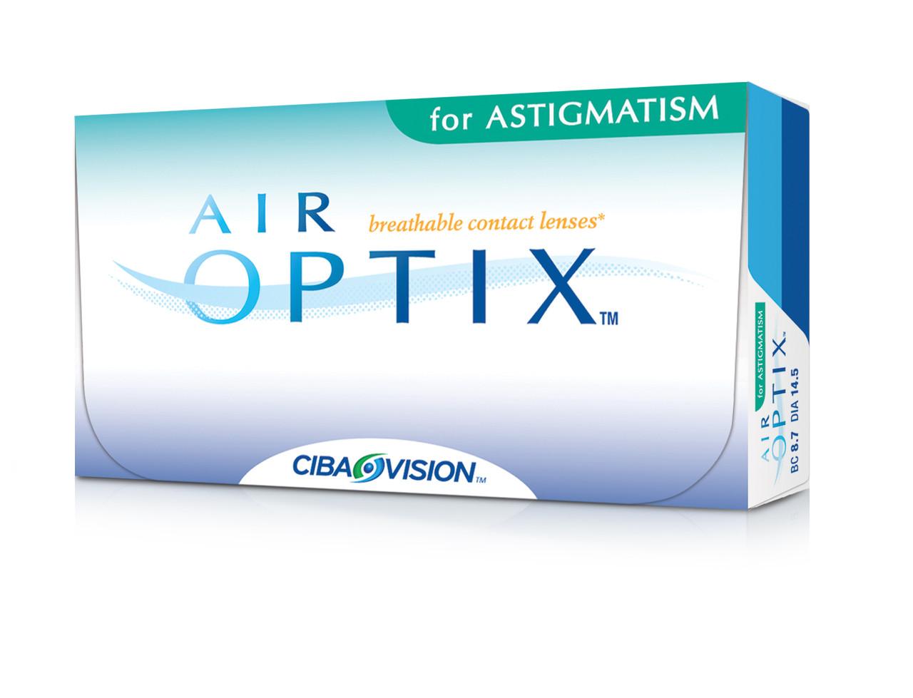 Линза контактная AIR OPTIX for ASTIGMATISM - интернет-магазин «УкрОптика» в  Киеве d24c3913b689c