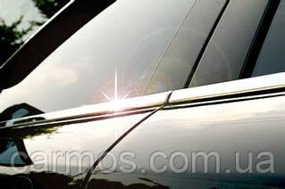 Хром молдинг стекла toyota Corolla (2007-2012) (тойота королла ), 4 шт. нерж