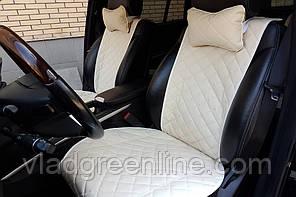 Накидки на сиденьяпередний комплект. широкие из экокожи. авточехлы (цвет в ассортименте)