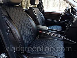 Накидки на сиденья автомобилей из экокожи, полный комплект. стандарт (цвет в ассортименте)