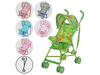 Детская прогулочная коляска - трость Bambi M 1702, 6 цветов
