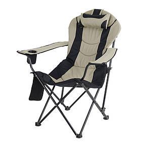 """Кресло """"Директор"""" d19 мм (черный-беж), фото 3"""