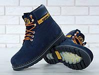 19ff777f7cbb52 Чоловічі Зимові черевики Caterpillar Colorado Fur, чоловічі черевики. ТОП  Репліка ААА класу.