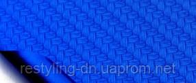 Пленка под карбон 3DCatpiano синий металлик, 1.52м