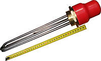 """Блок-ТЕН 1,5"""" на 4,5 кВт из 3-х тенов, для электрического котла отопления"""