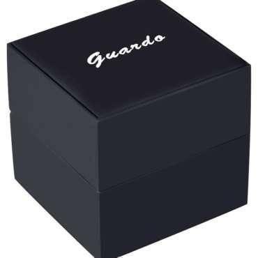 Часы мужские Guardo 011998-2 серебряно-золотые, фото 2