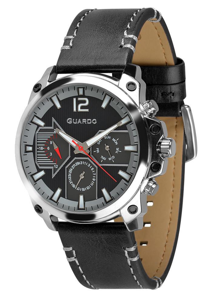 Часы мужские Guardo 011998-1 черные