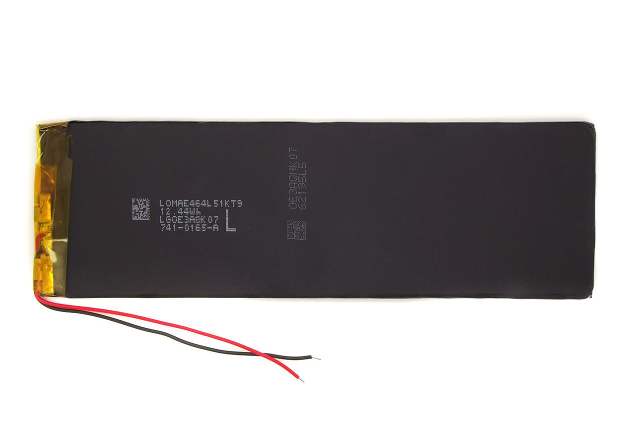 Аккумулятор 3050mAh 3.7v 3550120  для планшета