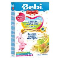 Каша молочная Bebi Premium (Беби Премиум) фрукт.-злак. ассорти, 250 г, для активного дня 1104821