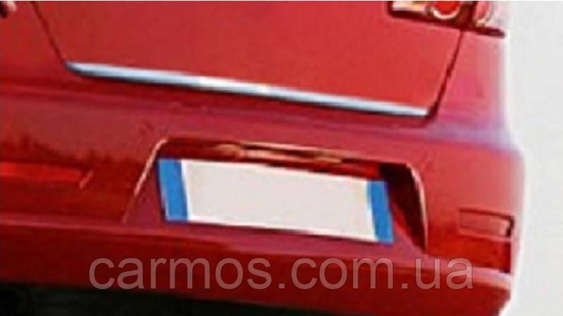 Хром накладка нижней кромки багажника Honda civic (2007 - 2011) (хонда цивик), нерж.