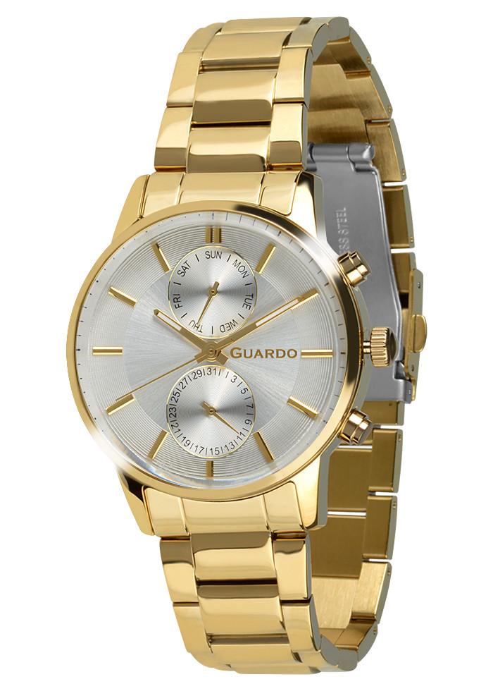 Часы мужские Guardo золотые B01068-6 золотые