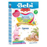 Молочная каша Bebi Premium (Беби Премиум) гречка, 200 г, для активного дня 1104800