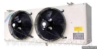 Воздухоохладитель 1,2 кВт. (ламель 9 мм, низкотемпературный, -25С, дельта 6С)