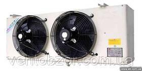 Воздухоохладитель 2,3кВт. (ламель 9 мм, низкотемпературный, -25С, дельта 6С)