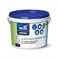 Краска фасадная силиконовая Helios Spectra Silicone 10 л