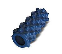 Роллер массажный Grid Roller для занятий йогой, пилатесом Zelart FI-4246