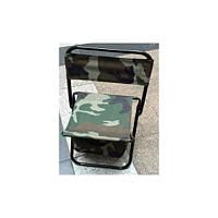 Складной стул для туризма кемпинга рыбалки (Камуфляж) TM-84