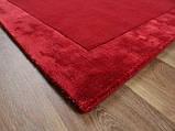 Комбіновані килими з вовни, віскози яскраво червоного кольору, фото 4