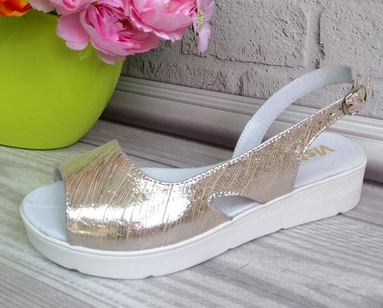 Кожаная женская обувь из натуральных материалов