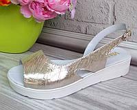 Кожаная женская обувь из натуральных материалов, фото 1